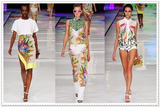 Just Cavalli 2014 Frühjahr/Sommer Kollektion Damen
