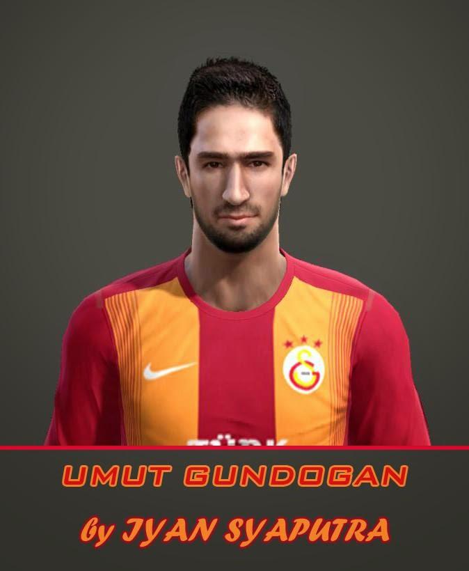 PES 2013 Umut Gundogan Face by iyan_syaputra