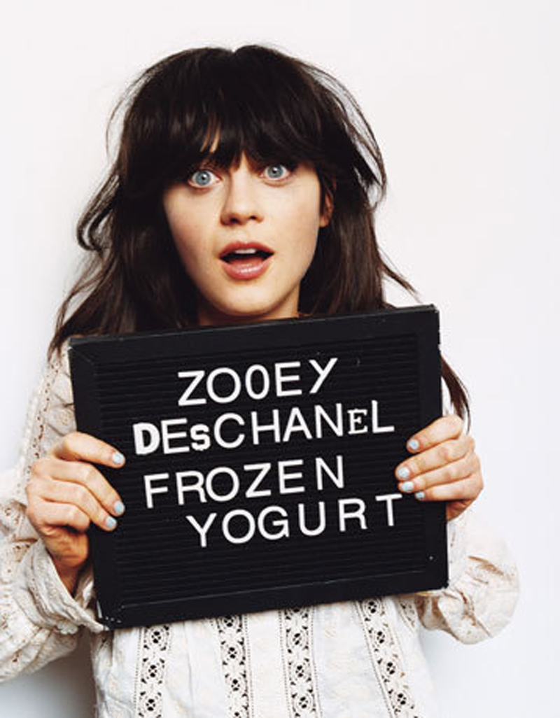 Fresh Look Celebrity Zooey Deschanel Hairstyles 35