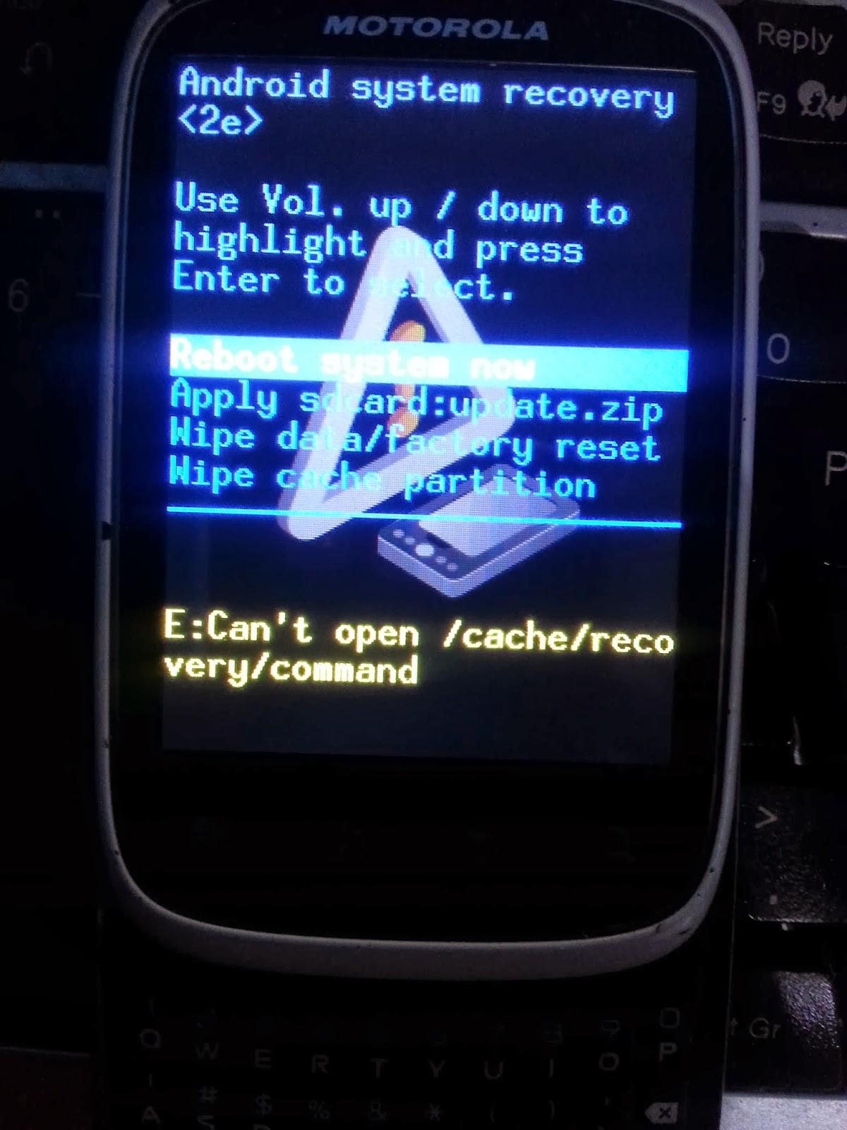 Motorola Moto M - hard reset, сброс настроек до заводских Your 94