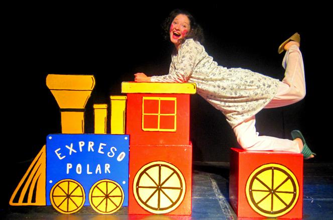 Actriz francisca el expreso polar for Expreso polar