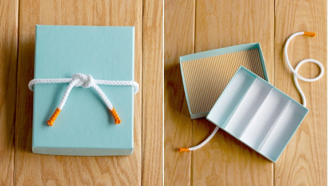 DIY Nautical Candy Favor Box by Confetti Pop for Mrs. Lilien's baby shower   via Sweet Tooth