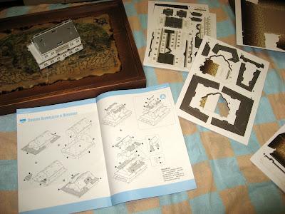 сборная модель Японский замок Химедзи