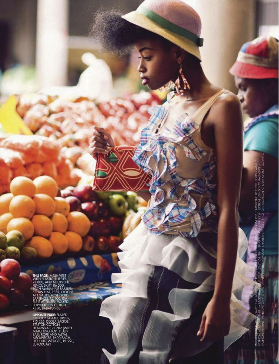 The Jozi Maboneng In Elle South Africa S January 2013 Issue Rocks