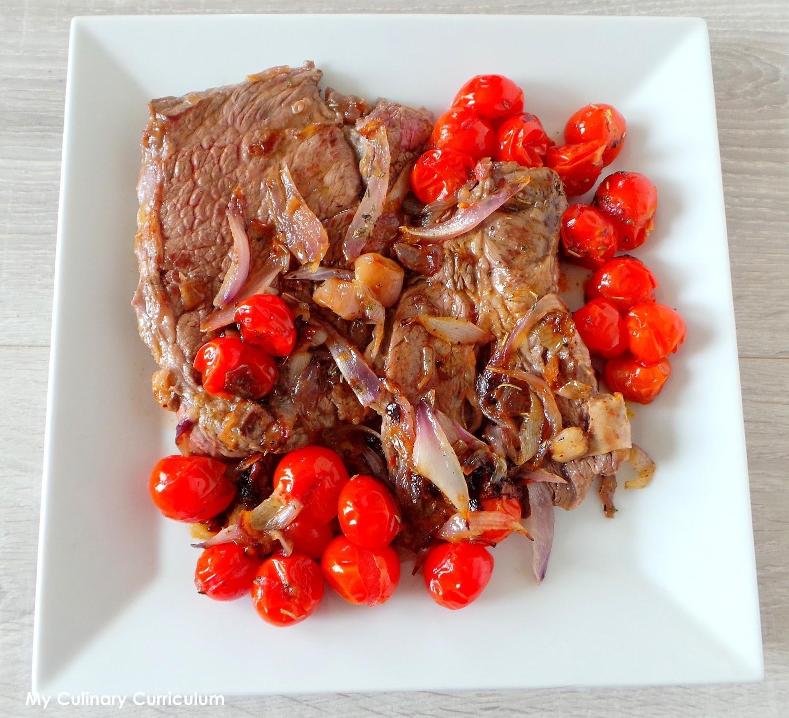 My culinary curriculum basse c te de b uf aux oignons - Cuisiner basse cote de boeuf ...