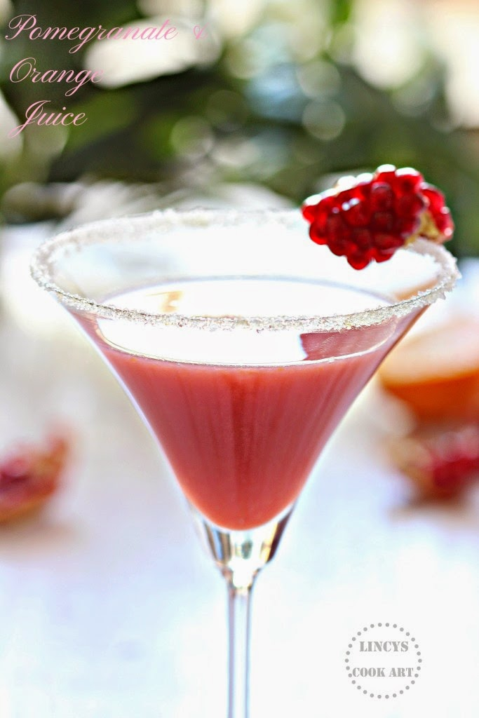 Pomegranate & Orange Juice