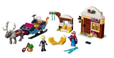 TOYS : JUGUETES - LEGO Princesas Disney  41066 Frozen : Aventura en trineo de Anna y Kristoff  Anna & Kristoff's Sleigh Adventure Producto Oficial 2015   Piezas: 174   Edad: 5-12 Comprar en Amazon España & buy Amazon USA