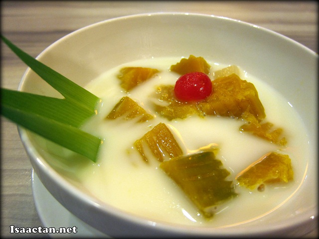 Sweet Tapioca served in Coconut Milk