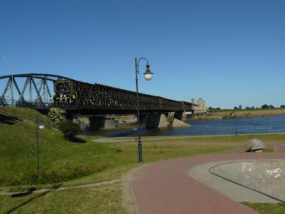 Bulwar w Tczewie, most w Tczewie