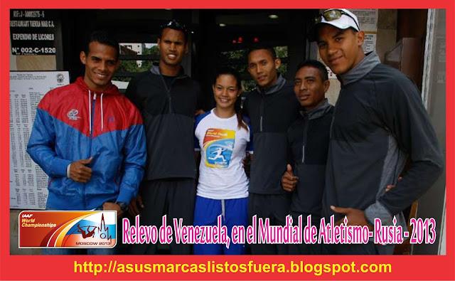 Venezuela mundial de Atletismo-2013