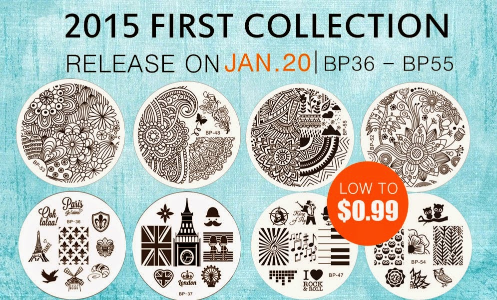 Born Pretty Store Plates 36-55