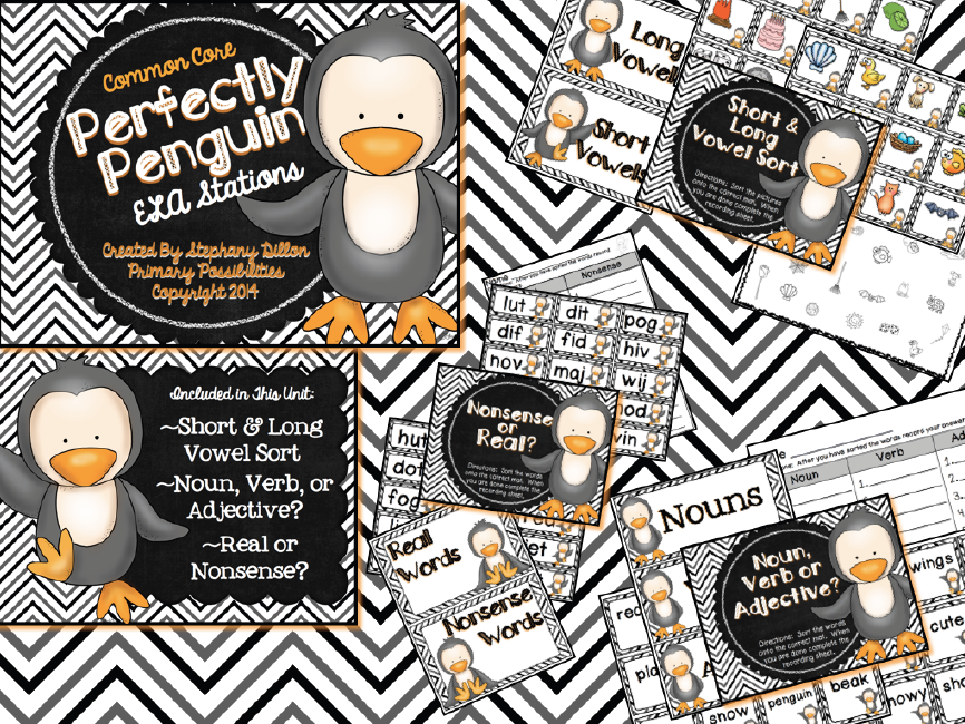 http://www.teacherspayteachers.com/Product/Perfectly-Penguin-ELA-Stations-Common-Core-Aligned-1046262