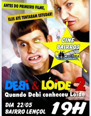 Cine Bairros desta sexta estará no bairro Lençol