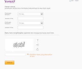 Cara membuat email Yahoo, tutorial, cara membuat, email yahoo