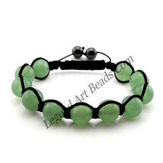Green Color Gemstone Bracelet