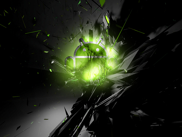wallpaper for android phones with android robot logo