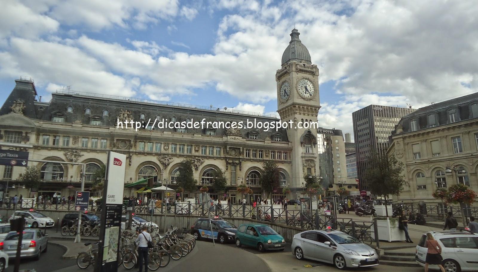 Gares de Paris e como ir dos Aeroportos para o Centro