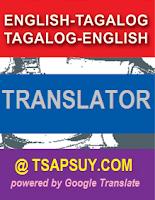 English-Tagalog / Tagalog-English Translator