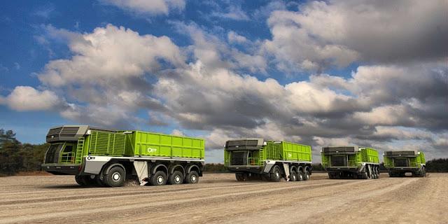 trenes de carretera autocargantes el camion que se carga solo 3