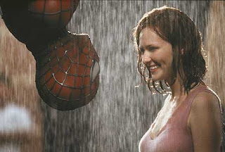 spider man RAIN KISS