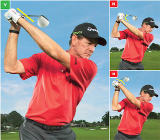 Flat Left Wrist Golf Swing
