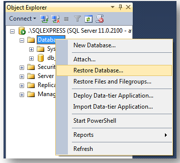 Cara Backup dan Restore Database SQL Server Menggunakan SQL Server Management Studio