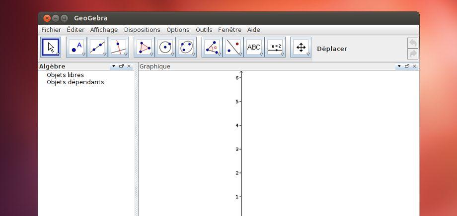 GeoGebra in Ubuntu