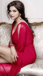 Deepika Padukone in hot red dress