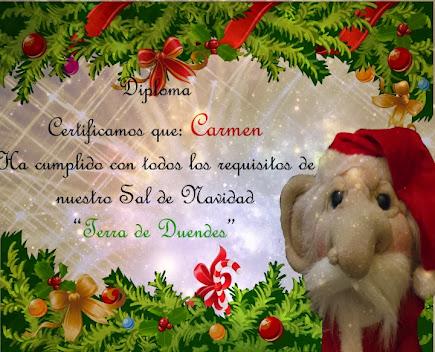 ♥ ♥ ♥ Diploma Sal Navideño♥ ♥ ♥