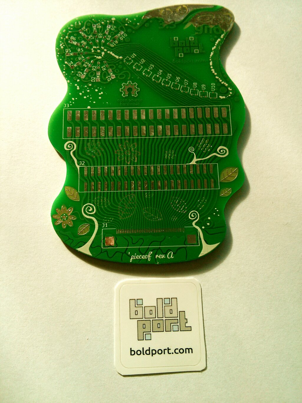 First look at pieceof   boldport