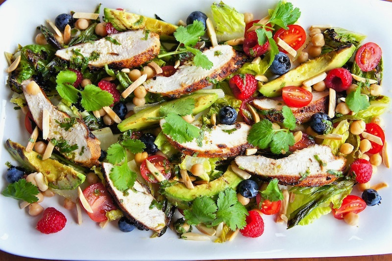 Seasaltwithfood: Grilled Chicken Salad
