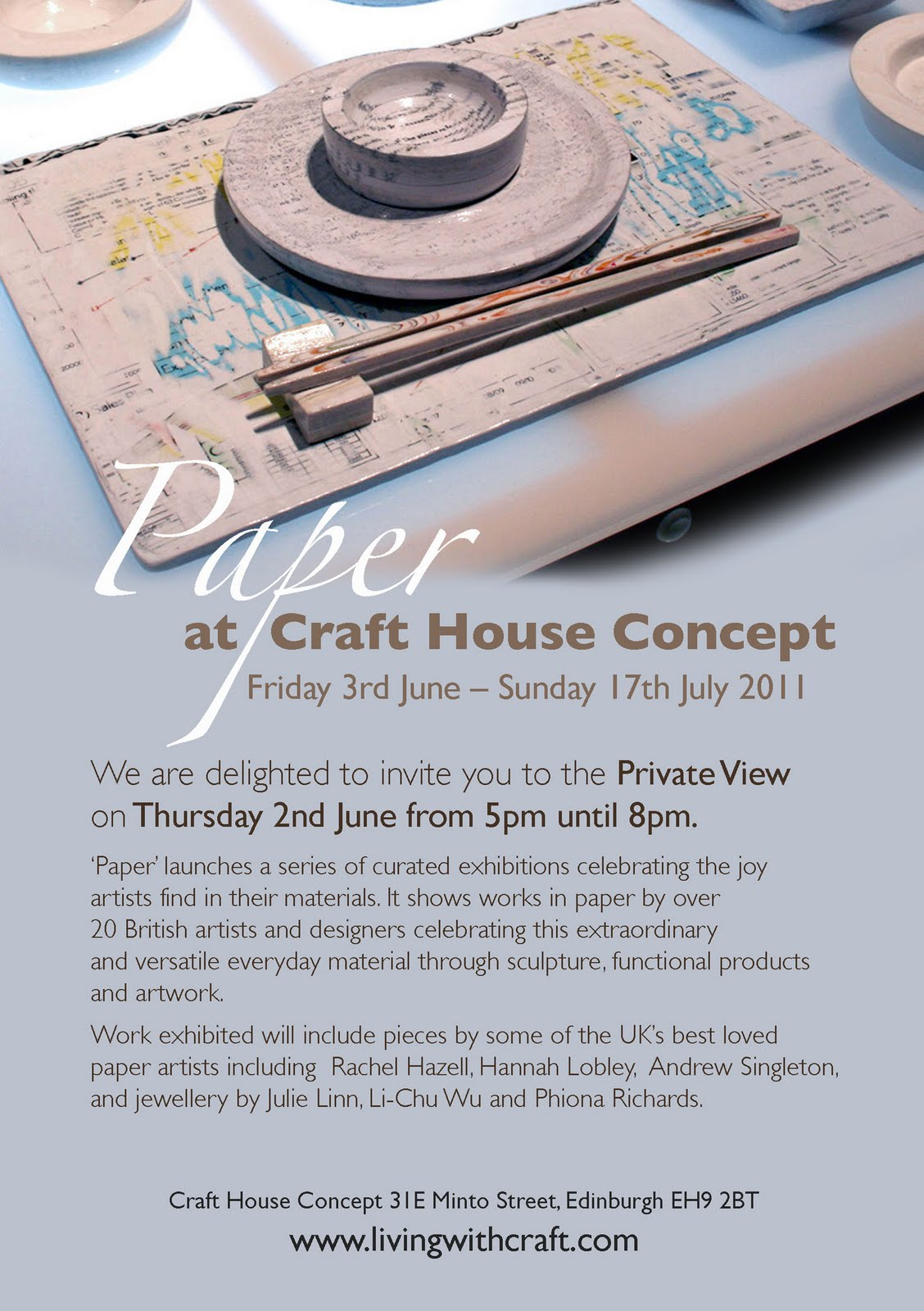I Will Be Exhibiting Some Of My Paper Birds At Craft House Concept In  Edinburgh From The 2nd Of June Until The 17th Of July. The Birds Will Be  Exhibited And ...