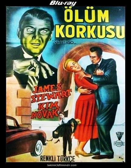 Vertigo: Ölüm Korkusu (1958) afis