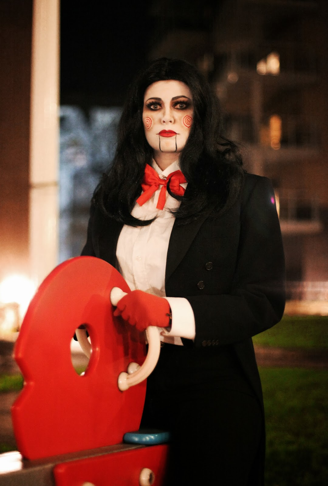 Happy Halloween - Billy puppet makeup (Saw)