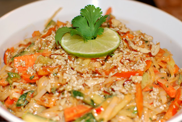 Asian lime noodle salad recipe