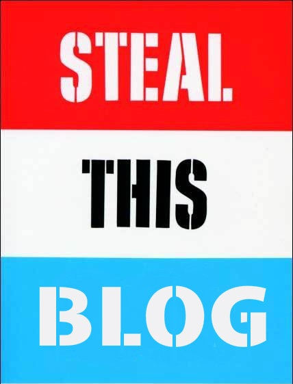 Steal This Blog, Steal This Book