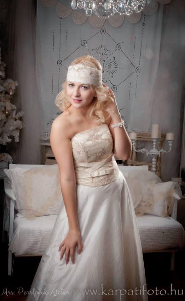 Vintage menyasszonyi ruhák