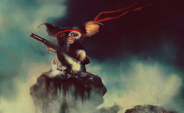 SPN Gremlins: Gizmo Winchester por nargynargy