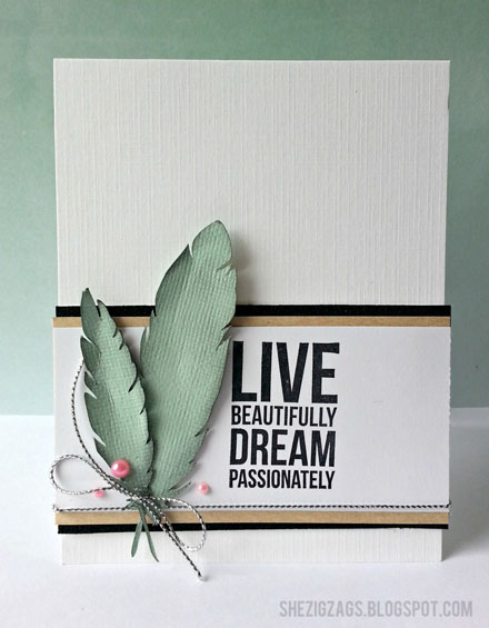 Live Beautifully Card