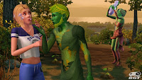 imagem 1, screenshots do jogo The Sims 3 University Life PC