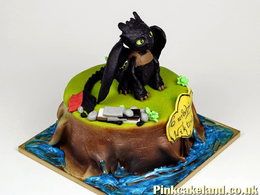 How To Train Your Dragon Birthday Cake, London