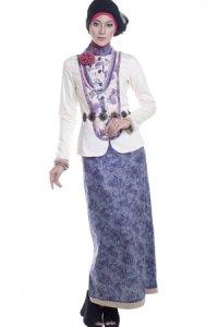Esme Gamis E-010411 - Krem Ungu (Toko Jilbab dan Busana Muslimah Terbaru)