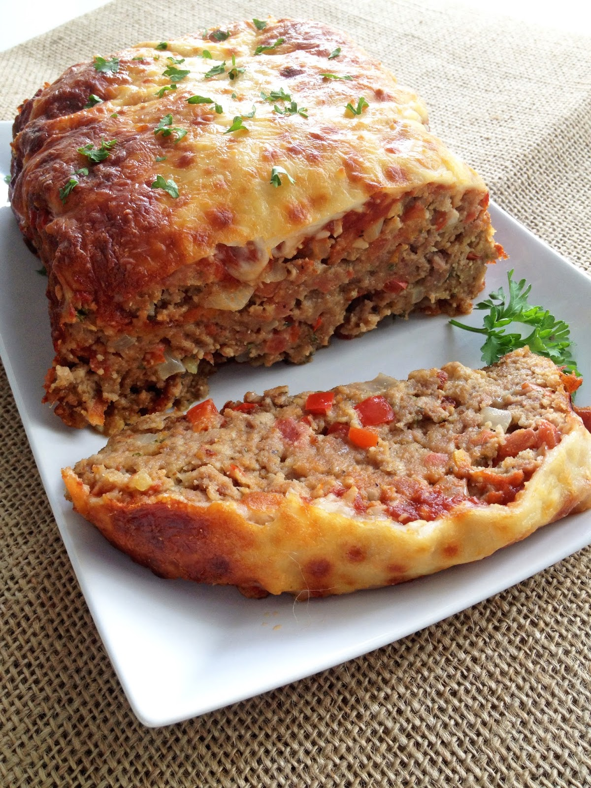 Italian-Style Meatloaf | Cooking Jar and Happy Accidents