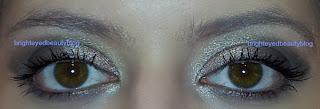 Benefit BADgal Lash Mascara with Chanel Ombres Perlees De Chanel eyshadow