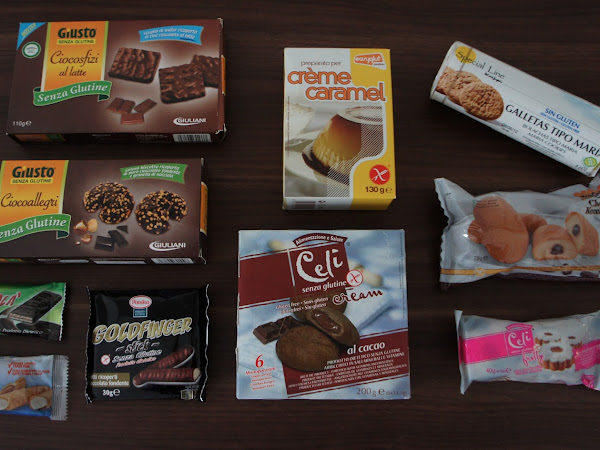 3. glutenfreie Kiste - Produkte aus Spanien & Italien
