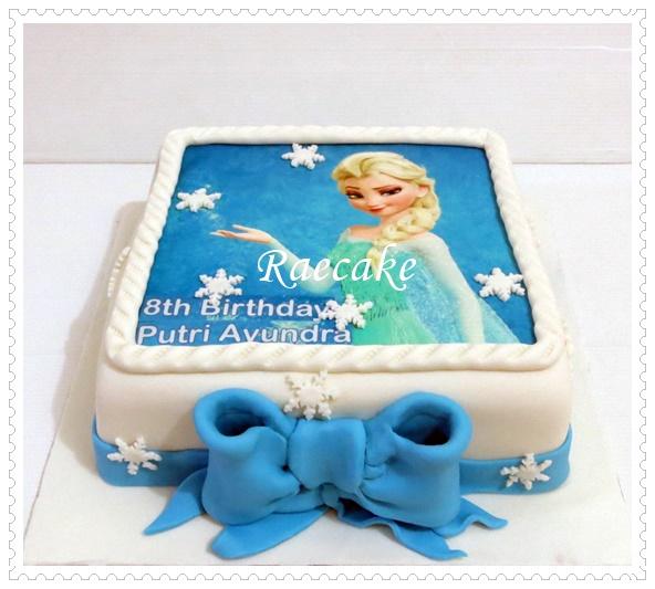 Frozen Cake and Cupcake for Putri Ayunda Kue Ulang Tahun Birthday