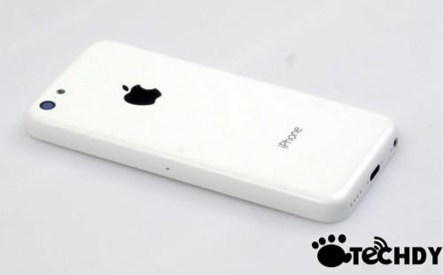 Ecco l'immagine della scocca posteriore del nuovo Apple iPhone Mini o iPhone a basso costo