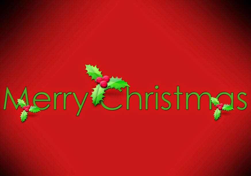 Merry Christmas Greeting Wallpaper For Parents