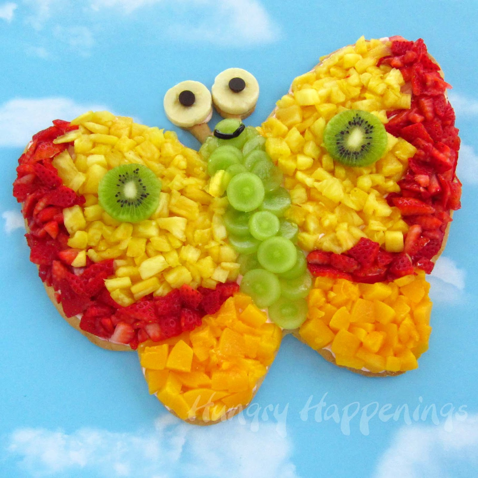 Cute food for kids recipes viewing gallery - Kids fruit salad decoration ...