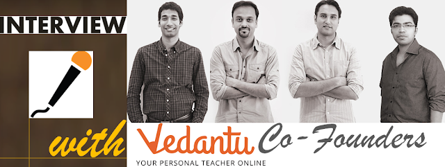 vedantu.com founder interview pics